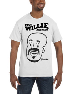 Fast Willie Jackson Men's T-Shirt - Hannibal - 2C - White