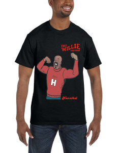Fast Willie Jackson Men's T-Shirt - Hannibal - 5A - Black