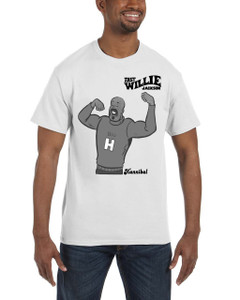 Fast Willie Jackson Men's T-Shirt - Hannibal - 5B - White