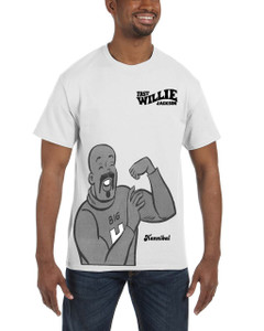 Fast Willie Jackson Men's T-Shirt - Hannibal - 6B - White