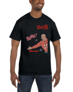 Fast Willie Jackson Men's T-Shirt - Hannibal - 7A - Black