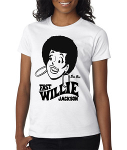 Fast Willie Jackson Women's T-Shirt - Dee Dee - 9 - White