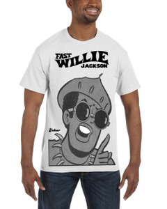 Fast Willie Jackson Men's T-Shirt - Jabar - 5C - White