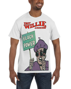 Fast Willie Jackson Men's T-Shirt - Jabar - 8 - White