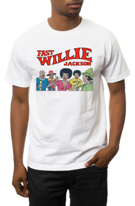 Fast Willie Jackson Men's T-Shirt - Gang - 1A - White