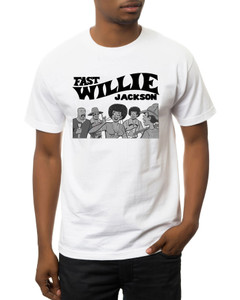 Fast Willie Jackson Men's T-Shirt - Gang - 1B - White