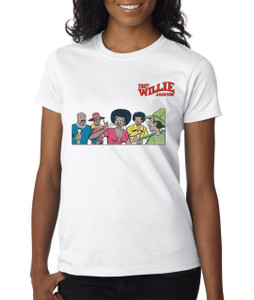 Fast Willie Jackson Women's T-Shirt - Gang - 1A - White