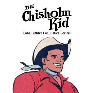Vintage Black Heroes Magnet - The Chisholm Kid - 1