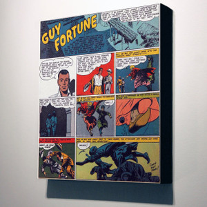 Vintage Black Heroes 24x20 Canvas - Guy Fortune - 11