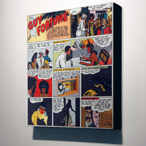 Vintage Black Heroes 32x24 Canvas - Guy Fortune - 9