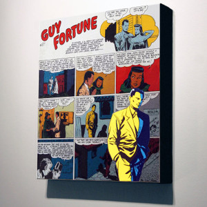 Vintage Black Heroes 32x24 Canvas - Guy Fortune - 4a