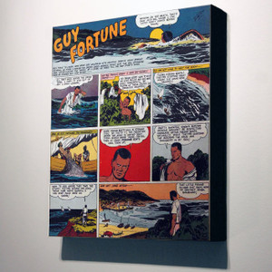 Vintage Black Heroes 24x20 Canvas - Guy Fortune - 3