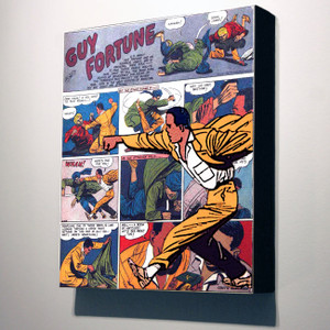 Vintage Black Heroes 24x20 Canvas - Guy Fortune - 2a