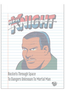 Vintage Black Heroes Notepad - Neil Knight - 4