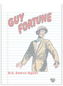 Vintage Black Heroes Notepad - Guy Fortune - 1
