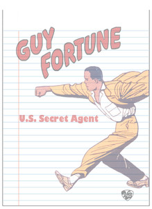 Vintage Black Heroes Notepad - Guy Fortune - 2