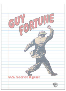 Vintage Black Heroes Notepad - Guy Fortune - 3