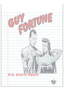 Vintage Black Heroes Notepad - Guy Fortune - 13