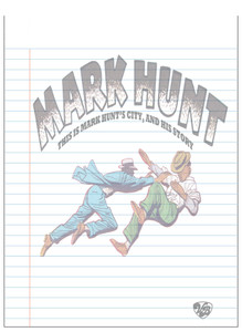 Vintage Black Heroes Notepad - Mark Hunt - 2