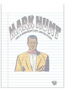 Vintage Black Heroes Notepad - Mark Hunt - 3