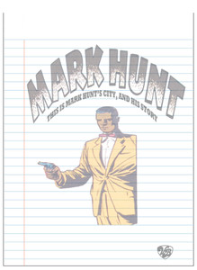 Vintage Black Heroes Notepad - Mark Hunt - 4