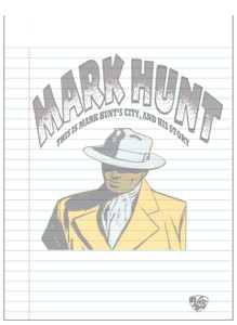 Vintage Black Heroes Notepad - Mark Hunt - 5
