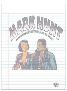 Vintage Black Heroes Notepad - Mark Hunt - 12