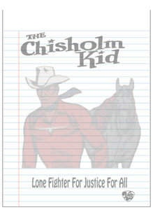 Vintage Black Heroes Notepad - The Chisholm Kid - 2