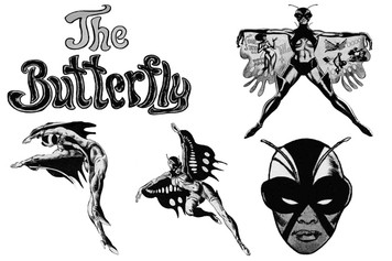 Vintage Black Heroines Sticker Sheet - The Butterfly - 1