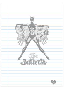 Vintage Black Heroines Notepad - The Butterfly - 1