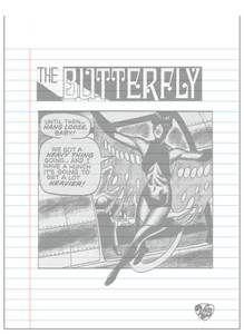 Vintage Black Heroines Notepad - The Butterfly - 5