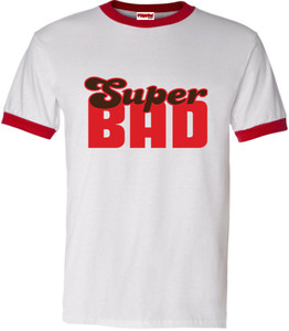 SuperBad Soulware Men's T-Shirt - Super Bad - Red Ringer