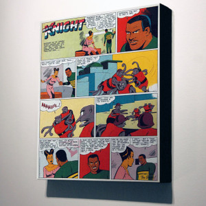 Vintage Black Heroes 14x12 Canvas - Neil Knight - 1