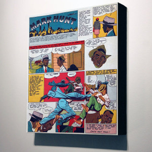 Vintage Black Heroes 14x12 Canvas - Mark Hunt - 4A
