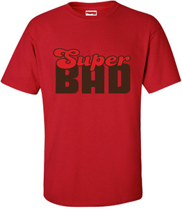SuperBad Soulware Men's T-Shirt - Super Bad - Red - BRR
