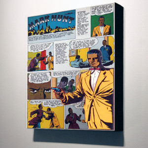 Vintage Black Heroes 14x12 Canvas - Mark Hunt - 9B