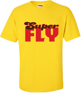 SuperBad Soulware Men's T-Shirt - Super Fly - Yellow
