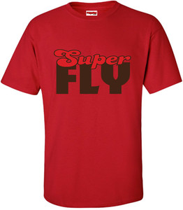 SuperBad Soulware Men's T-Shirt - Super Fly - Red - BRR