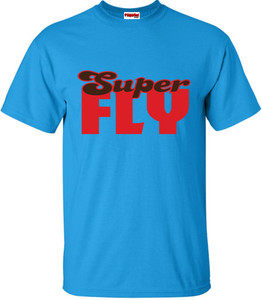 SuperBad Soulware Men's T-Shirt - Super Fly - Sapphire Blue