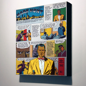 Vintage Black Heroes 32x24 Canvas - Mark Hunt - 9A