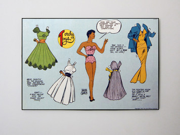 Vintage Black Heroines 24x32 Canvas - Torchy Togs - 6
