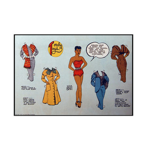 Vintage Black Heroines Notecards - Torchy Togs - 10 - Package Of 10