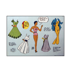 Vintage Black Heroines Postcards - Torchy Togs - 6 - Package Of 10