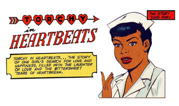 Vintage Black Heroines Magnet - Torchy In Heartbeats - 1A