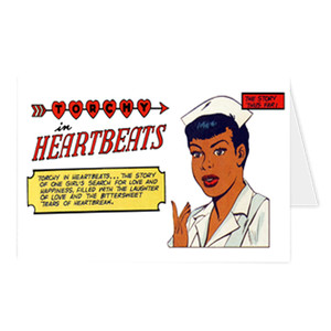 Vintage Black Heroines Greeting Cards - Torchy In Heartbeats - 1A - Package Of 10