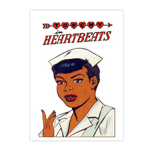 Vintage Black Heroines Postcards - Torchy In Heartbeats - 1 - Package Of 10