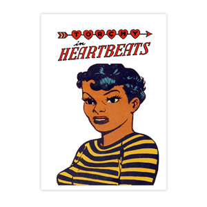 Vintage Black Heroines Postcards - Torchy In Heartbeats - 3 - Package Of 10