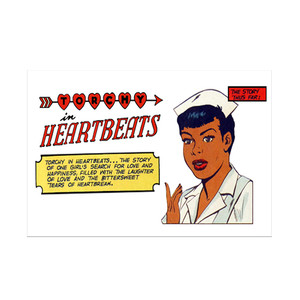 Vintage Black Heroines Notecards - Torchy In Heartbeats - 1A - Package Of 10