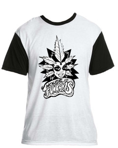 House Of Funkabis T-Shirt - Black And White - F1