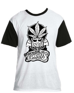 House Of Funkabis T-Shirt - Black And White - F2